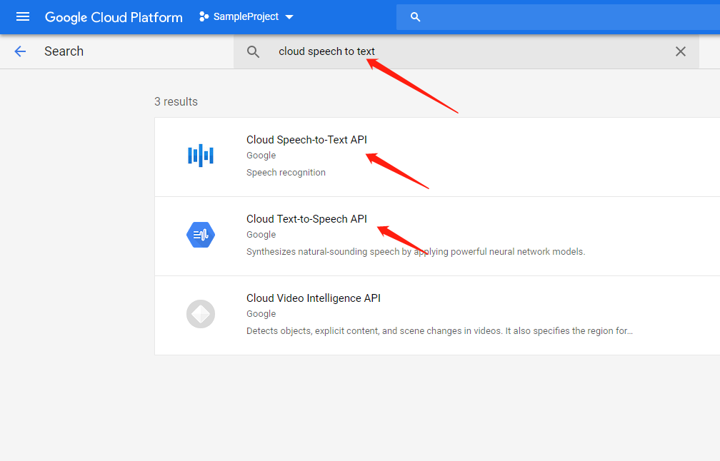 enable google cloud api 2